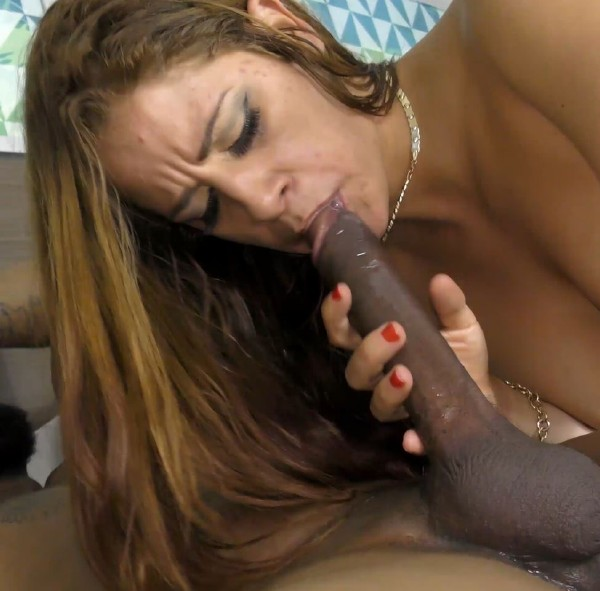 Miss Raquel – Pussy Punished by Massive Black Dick after Hotel Mix-up!