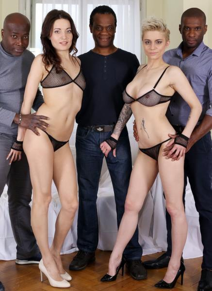 Roxy Dee, Mila Milan – Roxy Dee And Mila Milan – Two Horny Houswifes Take On Three Big Black Cocks IV067