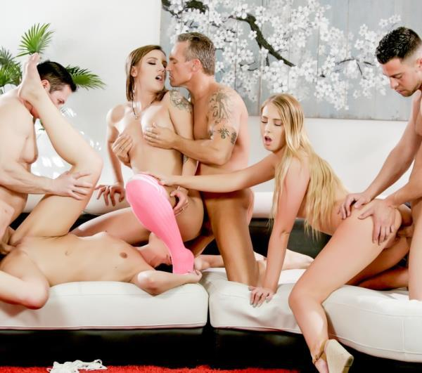 Whitney Wright, Chloe Scott, Sophia Grace – Neighborhood Swingers 19, Scene 2