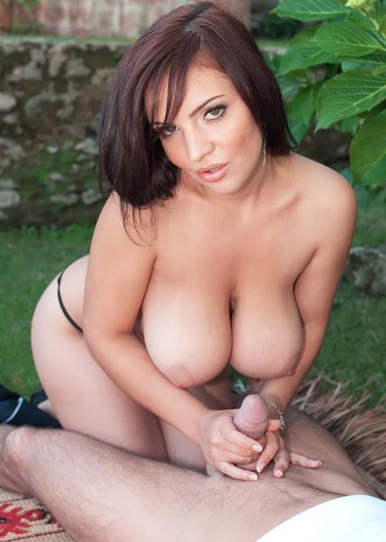 Lana Ivans – Between Her Big Tits