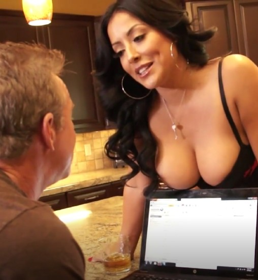 Kiara Mia – Kiara Mia with her huge breasts wants to be licked and fucked