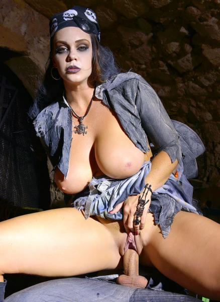 Alison Tyler – Zombie Pirate Alison Tyler Rides Massive Dick With Her Shaved Juicy Pussy GP105