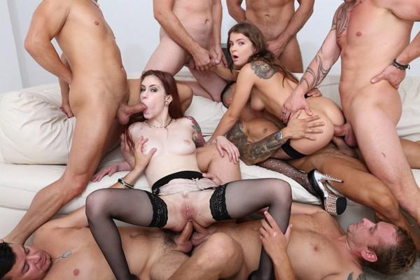 What a Gape! #1, 2 Anna de Ville & Renata Fox Balls Deep Anal, Big Gapes, ATOGM, DAP, Ass Licking, Crempie to Swallow