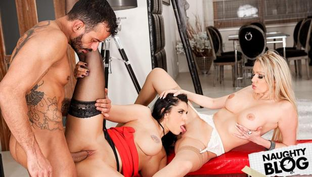 Rocco Siffredi – Anissa Kate, Amber Jayne & Kira Queen