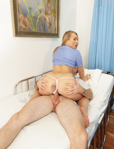 A.j. Applegate – Is A Home Nurse That Gets Tricked Into Fucking Her Patient!