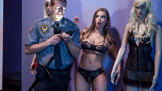 The Mannequin & the Security Guard Britney Amber & Xander Corvus