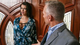 Peta Jensen – A nymphomaniac housewife has her lover show up at her front door. Since her husband is still home