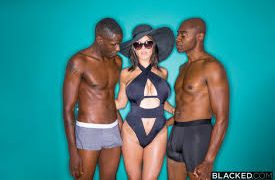 Peta's husband loves to watch her flirt with other men and while they are on their vacation, he notices a couple of hot guys checking her out