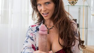 Syren De Mer – Surprises stepson Juan who drives his father's car and punishes him in a special way