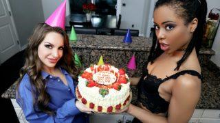 Kimmy Granger & Kira Noir – Happy 10th Birthday Mofos