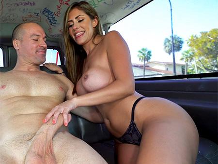 Alexa Vega – Sexy Realtor Rides on The Bus