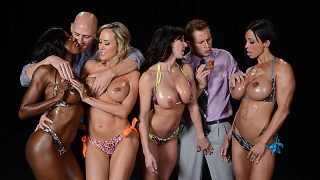Brandi Love, Diamond Jackson, Jewels Jade, Kendra Lust – Miss Titness America