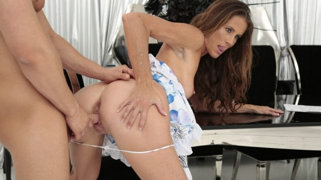 SOFIE MARIE – THE MILF AND THE MANNY