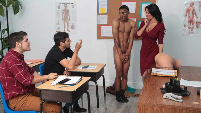 Fucked In Front Of Class Anissa Kate & Lil D