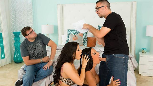 Comply With This Guy Elicia Solis , Romi Rain & Keiran Lee