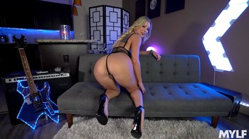 Full Of JOI  Kenzie Taylor Lascivious MILF In Lace