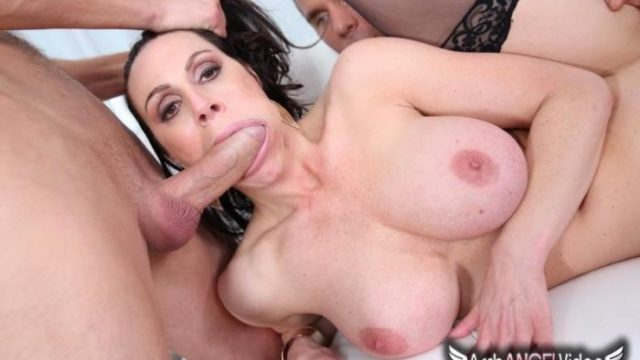 Kendra Lust ~ Kendras First Ever DP ~ ArchAngelVideo