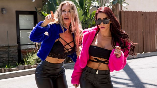 Hot & Horny Homewreckers Madison Ivy, Nicole Aniston & Keiran Lee