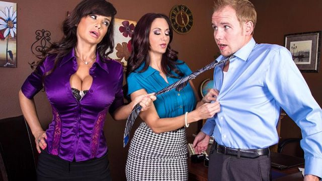 Ava Addams, Lisa Ann – Ogling in the Office