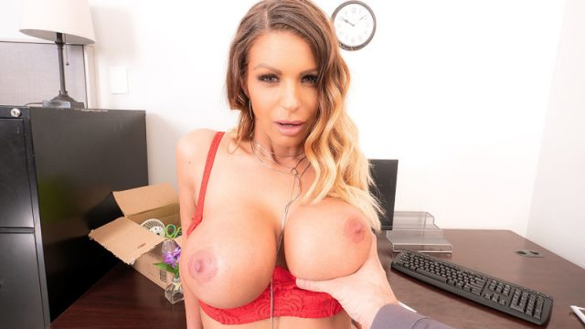 TRADING SPACES: FIRST DAY ON THE BLOWJOB FOR BROOKLYN CHASE