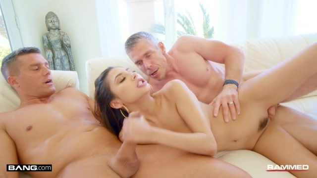 Gianna Dior Gets Her Tight Pussy Ravaged In Her First Ever Double Team!