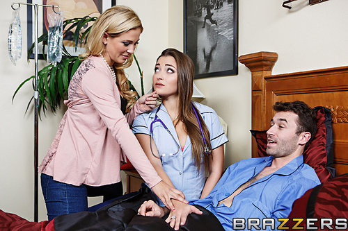 Naughty Nurse, Horny Housewife – Cherie Deville, Dani Daniels, James Deen
