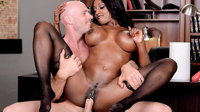 Oily Office Diamond Jackson & Johnny Sins