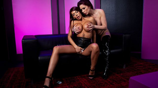 Lapdancer's Last Laugh Madison Ivy & Monique Alexander