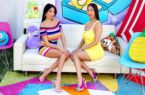 Anissa Kate, Sharon Lee – Tit and Ass Fucking with Anissa and Sharon