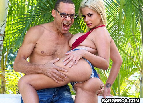 Amaranta Hank – Busty Colombian Takes on an Anal Challenge