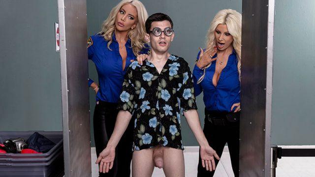 Fucking His Way Into the U.S.A Brittany Andrews, Nicolette Shea & Jordi El Niño Polla