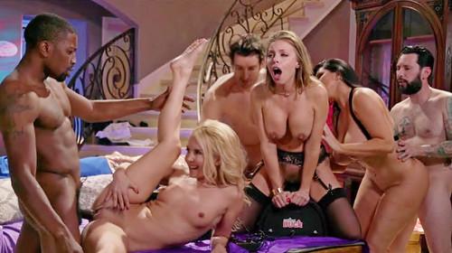 Aaliyah Love, Britney Amber, Romi Rain – The Motorbunny Club Episode 8