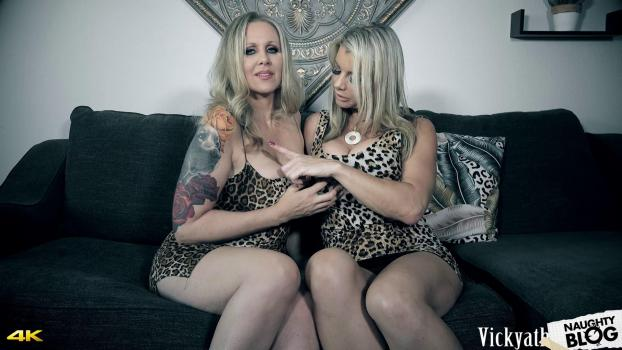 Vicky Vette & Julia Ann – Hall Of Fame Joi