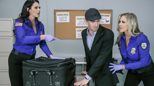 Julia Ann, Alison Tyler – Fluids on the Flight 2