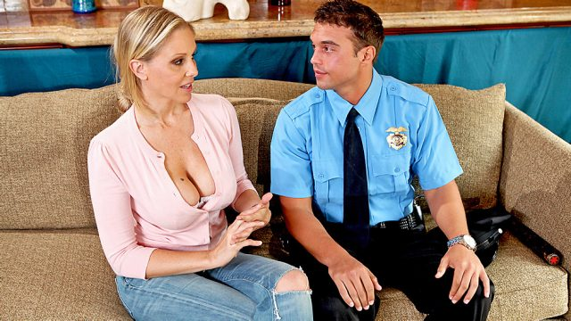 Stop! Or My Mom Will Fuck! Julia Ann & Rocco Reed