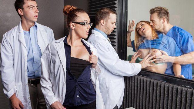 Naughty Nurses Krissy Lynn & Erik Everhard