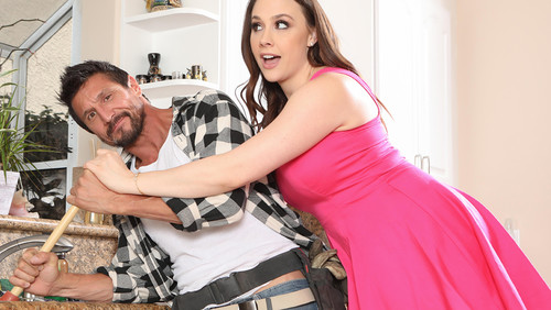 Chanel Preston – Plumber Comes And Cleans The Pipes