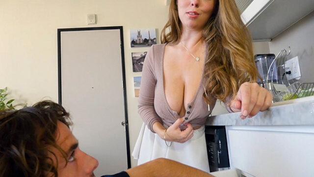 Lena Paul has the plumber's clean her pipes